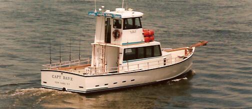 Capt. Dave – 50′ Custom Headboat
